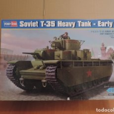 Maquetas: MAQUETA - HOBBY BOSS 83841 SOVIET T-35 HEAVY TANK EARLY 1/35. Lote 178937836