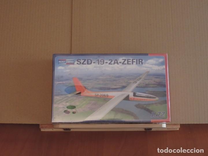 MAQUETA - M&H BRACIA DARSCY 02 SZD-19-2A ZEFIR 1/72 (Juguetes - Modelismo y Radio Control - Maquetas - Aviones y Helicópteros)