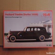 Maquetas: MAQUETA - ICM 35536 PACKARD TWELVE (SERIES 1408) AMERICAN PASSENGER CAR 1/35. Lote 178943891
