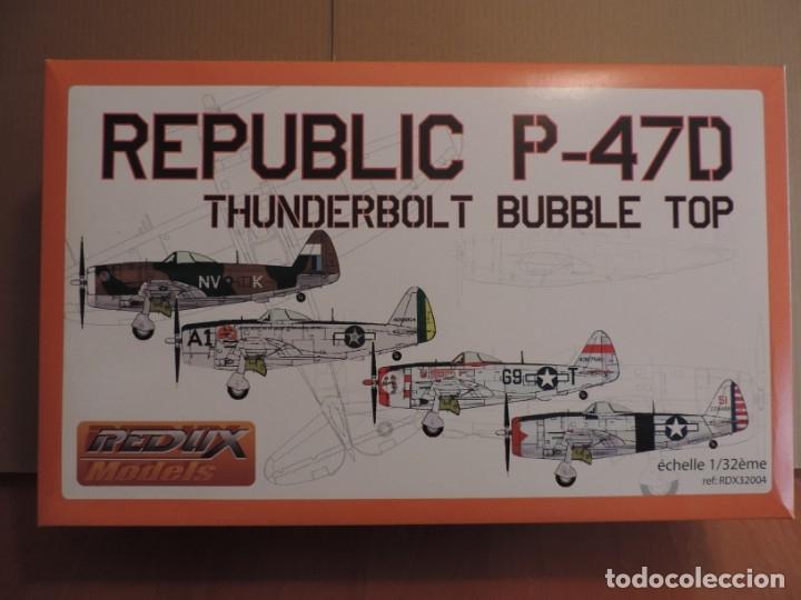 MAQUETA - REDUX RDX32004 REPUBLIC P-47D THUNDERBOLT BUBBLE TOP 1/32 (MOLDE DE TRUMPETER) (Juguetes - Modelismo y Radio Control - Maquetas - Aviones y Helicópteros)