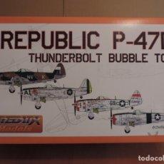Maquetas: MAQUETA - REDUX RDX32004 REPUBLIC P-47D THUNDERBOLT BUBBLE TOP 1/32 (MOLDE DE TRUMPETER). Lote 178945620