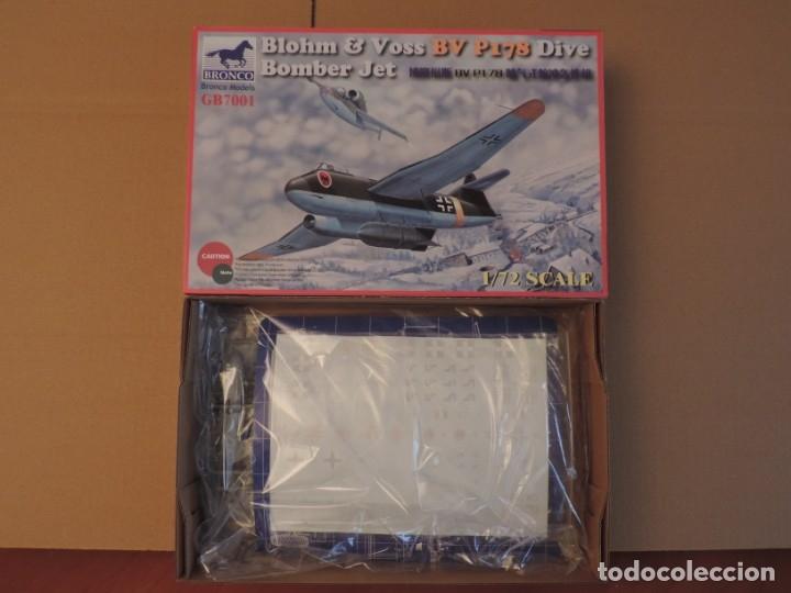 MAQUETA - BRONCO 7001 BLOHM & VOSS BV P178 JET BOMBER 1/72 (Juguetes - Modelismo y Radio Control - Maquetas - Aviones y Helicópteros)