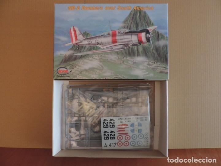 MAQUETA - MPM 72553 DB-8 BOMBERS OVER SOUTH AMERICA 1/72 + 6 ZTS 1/72 (Juguetes - Modelismo y Radio Control - Maquetas - Aviones y Helicópteros)