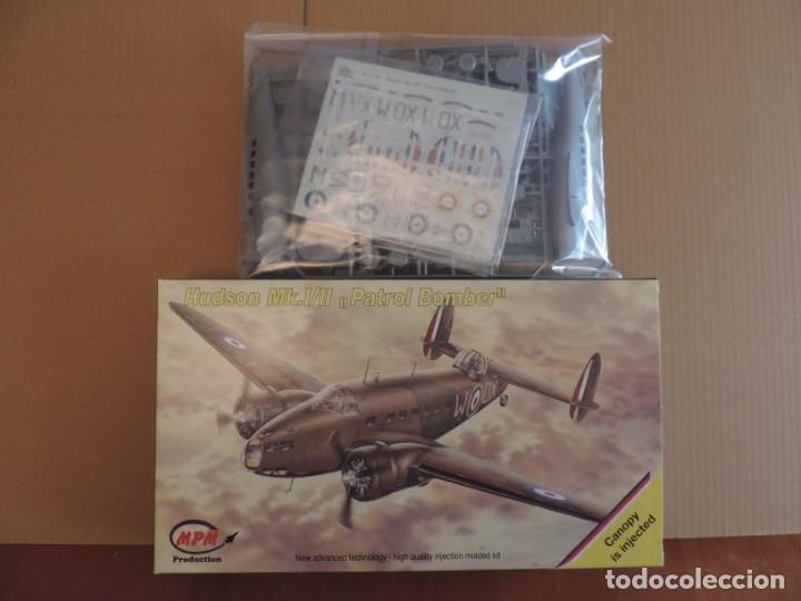 MAQUETA - MPM 72518 HUDSON MK.I/II PATROL BOMBER 1/72 (Juguetes - Modelismo y Radio Control - Maquetas - Aviones y Helicópteros)