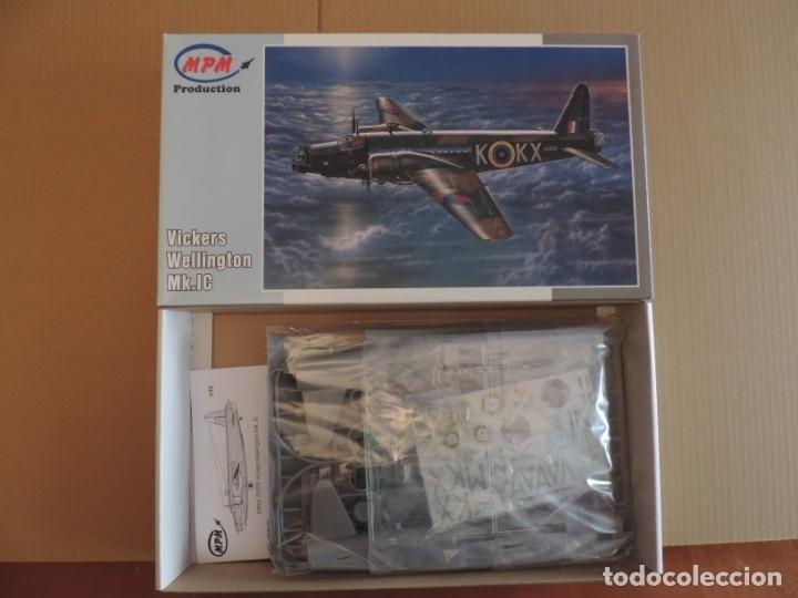 MAQUETA - MPM 72099 VICKERS WELLINGTON MK.1C 1/72 (Juguetes - Modelismo y Radio Control - Maquetas - Aviones y Helicópteros)