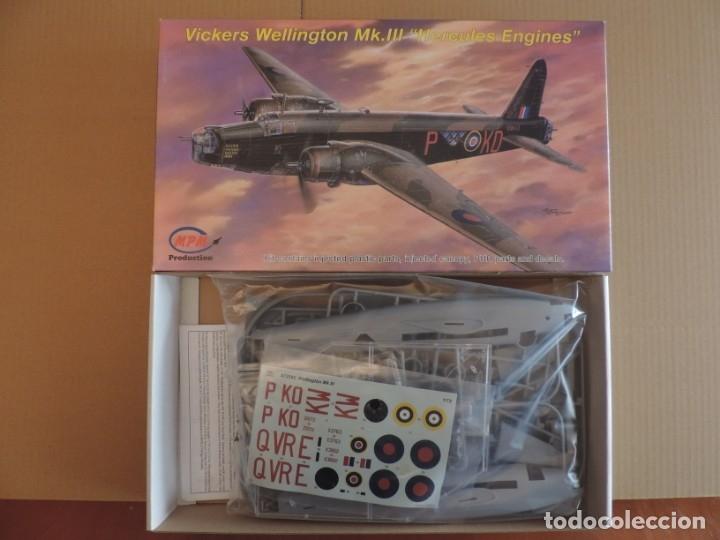 MAQUETA - MPM 72542 VICKERS WELLINGTON MK.III HERCULES ENGINES 1/72 (Juguetes - Modelismo y Radio Control - Maquetas - Aviones y Helicópteros)