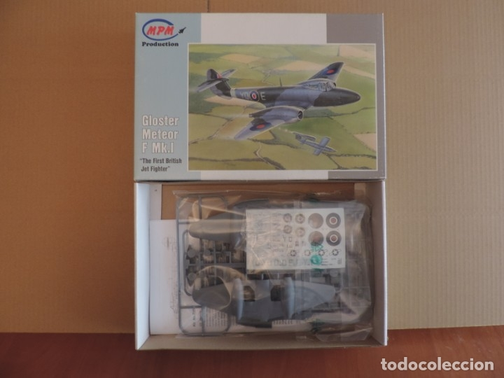 MAQUETA - MPM 72567 GLOSTER METEOR F.MK.I THE FIRST BRITISH JET FIGHTER 1/72 (Juguetes - Modelismo y Radio Control - Maquetas - Aviones y Helicópteros)