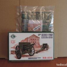 Maquetas: MAQUETA - UMT 624 3INCH FIELD GUN MODEL 1902 1/35. Lote 178955265