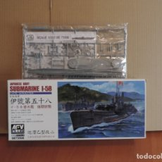 Maquetas: MAQUETA - AFV CLUB SE73508 JAPANESE NAVY I-58 SUBMARINE LATE TYPE 1/350. Lote 178955516