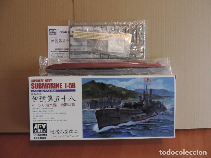 Maquetas: Maqueta - AFV Club SE73508 Japanese Navy I-58 Submarine late Type 1/350 - Foto 2 - 178955516