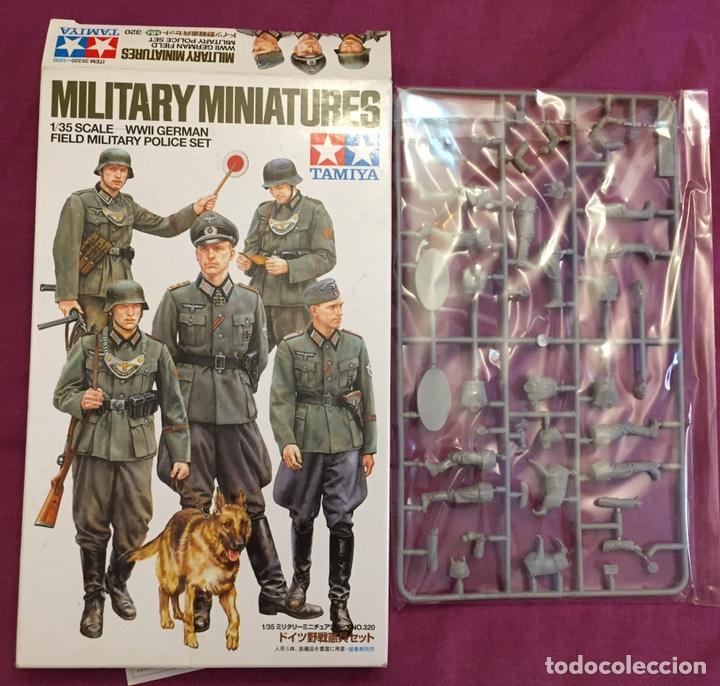 Maquetas: Germán Field Military Police Set 1:35 TAMIYA 35320 maqueta figuras diorama carro - Foto 3 - 179011366