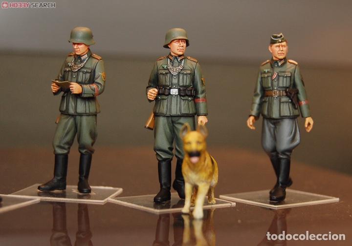 Maquetas: Germán Field Military Police Set 1:35 TAMIYA 35320 maqueta figuras diorama carro - Foto 4 - 179011366