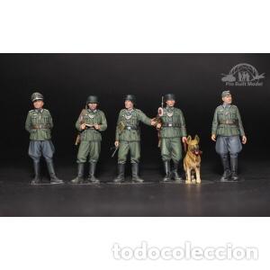 Maquetas: Germán Field Military Police Set 1:35 TAMIYA 35320 maqueta figuras diorama carro - Foto 5 - 179011366