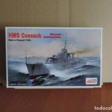 Maquetas: MAQUETA - AEROPLAST A-318 HMS COSSACK 1938 1/600. Lote 179154370