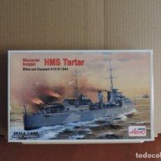 Maquetas: MAQUETA - AEROPLAST A-301 HMS TARTAR 1/600. Lote 179154372