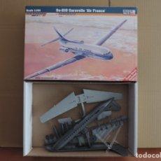Maquetas: MAQUETA - MISTERCRAFT D-28 SE-210 CARAVELLE AIR FRANCE 1/144. Lote 191268503