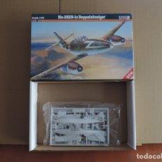 Maquetas: MAQUETA - MISTERCRAFT D-215 ME-262B-1A DOPPELSITZSIGER 1/72 . Lote 179166497