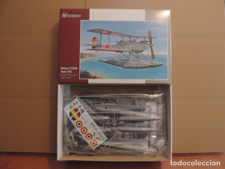 MAQUETA - SPECIAL HOBBY 72241 VICKERS/CASA TYPE 245 SPANISH VILDEBEST WITH FLOATS 1/72 (Juguetes - Modelismo y Radio Control - Maquetas - Aviones y Helicópteros)