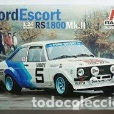 Maquetas: ITALERI - FORD SCORT RS 1800 MK.II 1/24 3655. Lote 179204223