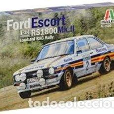 Maquetas: ITALERI - FORD ESCORT RS 1800 MK.II LOMBARD RAC RALLY 1/24 3650. Lote 179204381
