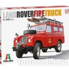 Maquetas: ITALERI - LAND ROVER FIRE TRUCK 1/24 3660. Lote 179204518