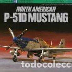Maquetas: TAMIYA - NORTH AMERICAN P-51D MUSTANG 1/72 60749. Lote 179206550