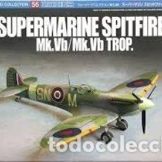 Maquetas: TAMIYA - SUPERMARINE SPITFIRE MK.VB/MK.VB TROP 1/72 60756. Lote 179206608