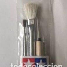 Maquetas: TAMIYA - JUEGO PINCELES TAMIYA 87066. Lote 179209445