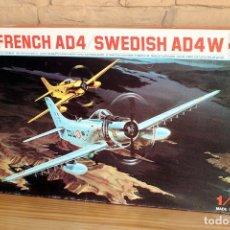 Maquetas: ESCI - MAQUETA AVION FRANCH AD4 / SWEDISH AD4 - NUEVA A ESTRENAR . Lote 179229427