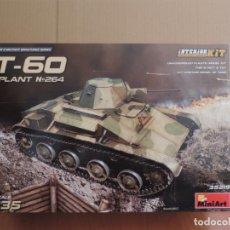 Maquetas: MAQUETA - MINIART 35219 T-60 (PLANT NO. 264) INTERIOR KIT 1/35. Lote 179253536