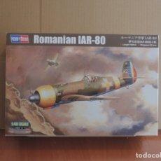 Maquetas: MAQUETA - HOBBY BOSS 81757 ROMANIAN IAR-80 1/48. Lote 179256495