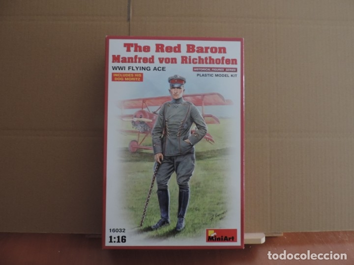 Maquetas: Maqueta - Miniart 16032 The Red Baron Manfred von Richthofen WWI Flying Ace 1/16 - Foto 1 - 179260146