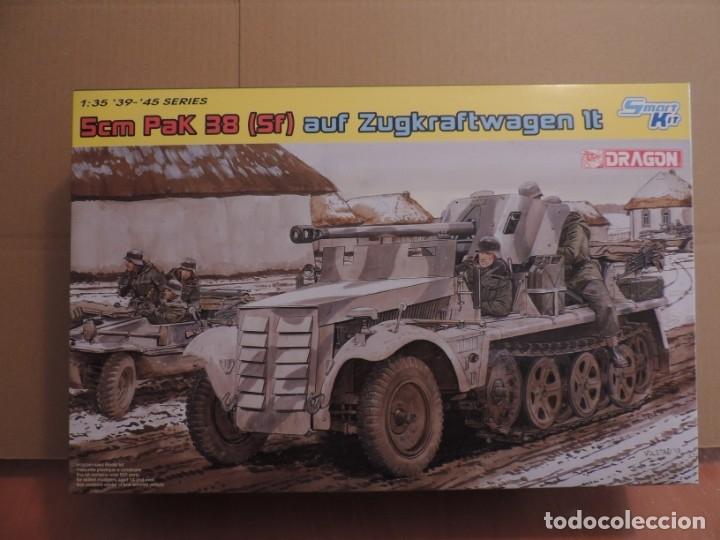 MAQUETA - DRAGON 6719 5CM PAK 38 (SF) AUF ZUGKRAFTWAGEN 1T 1/35 (Juguetes - Modelismo y Radiocontrol - Maquetas - Militar)