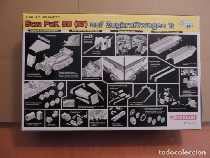 Maquetas: Maqueta - Dragon 6719 5cm PaK 38 (Sf) auf Zugkraftwagen 1t 1/35 - Foto 2 - 179403046