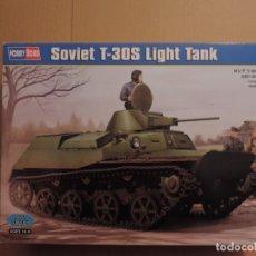 Maquetas: MAQUETA - HOBBY BOSS 83824 TANQUE LIGERO SOVIETICO T-30S 1/35. Lote 179516251