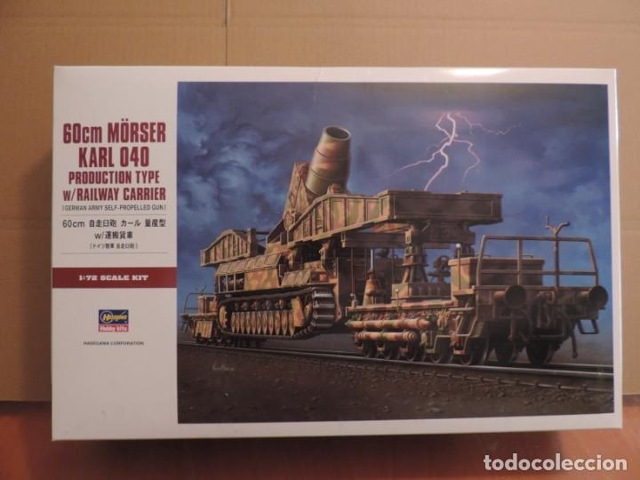 MAQUETA - HASEGAWA MT57 MORSER KARL 040 1/72 (Juguetes - Modelismo y Radiocontrol - Maquetas - Militar)