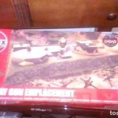 Maquetas: AIRFIX A05701, 1/72 D-DAY GUN EMPLACEMENT BATERIA COSTERA SELLADO. Lote 179524483
