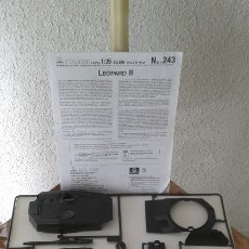 Maquetas: MAQUETA LEOPARD II INCOMPLETA. Lote 179550030