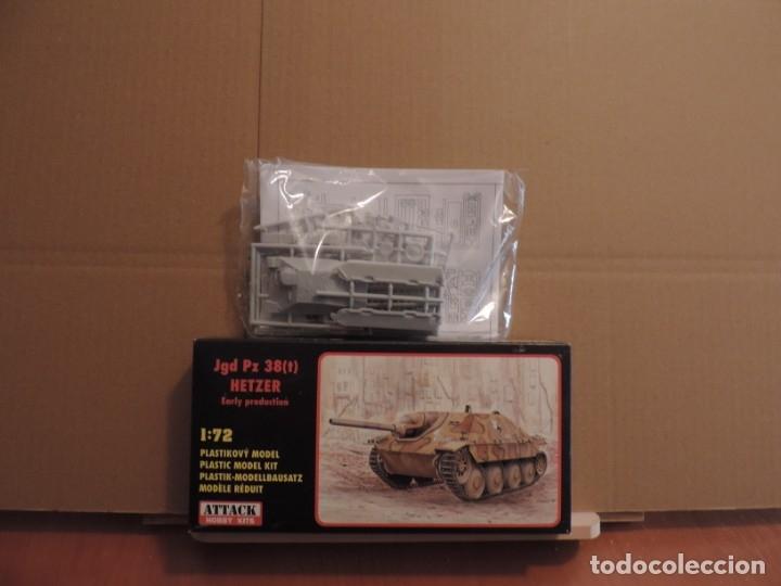 Maquetas: Maqueta - Attack Hobby 72830 Jgd Pz 38(t) Hetzer Early production 1/72 - Foto 2 - 179963175