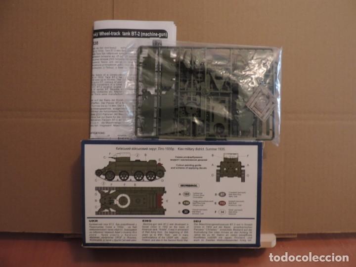 Maquetas: Maqueta - UM 338 BT-2 Soviet machine-gun tank 1/72 - Foto 2 - 180006337