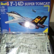 Maquetas: REVELL 1/72 F-14D SUPER TOMCAT. Lote 180088396