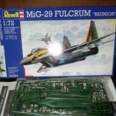 Maquetas: REVELL 1/72 MIG -29 FULCRUM. Lote 180090931