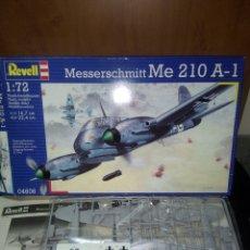 Maquetas: REVELL 1/72 ME 210 A-1. Lote 180091095
