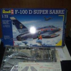 Maquetas: REVELL 1/72 F-100 D SUPER SABRE. Lote 180091387