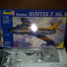 Maquetas: REVELL 1/72 HAWKER HUNTER MK 6. Lote 180091663