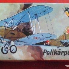 Maquetas: POLIKARKOV PO-2. KP PLASTIC ESCALA 1/72. MODELO NUEVO. Lote 180092096