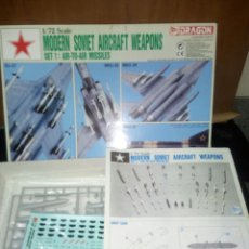 Maquetas: DRAGON 1/72 MODERN SOVIET AIRCRAFT WEAPONS SET 1. Lote 180094517