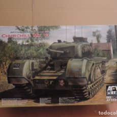 Maquetas: MAQUETA - AFV CLUB 35S52 CHURCHILL MK.VI WITH ORDNANCE QF 75MM MK.V GUN 1/35. Lote 180101893