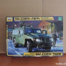Maquetas: MAQUETA - ZVEZDA 3668 RUSSIAN ARMORED VEHICLE GAZ-233014 TIGER 1/35. Lote 180102678