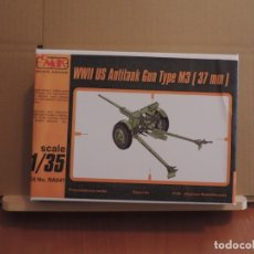 Maquetas: MAQUETA - CMK RA041 M3 US 37MM ANTI-TANK GUN WW.II 1/35 (KIT DE RESINA). Lote 180102843